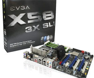 EVGA's X58 should give Asus some stress