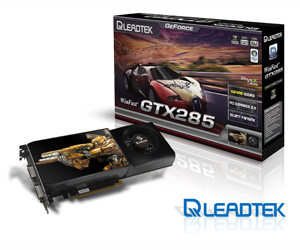 Leadtek releases GeForce GTX 285 info