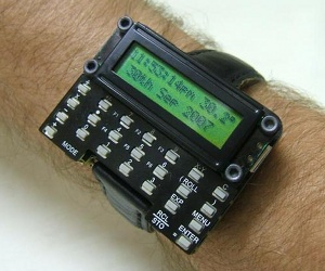 The DIY calculator wristwatch