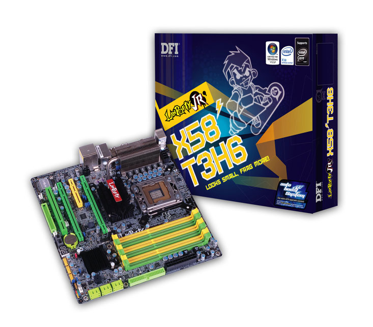The most powerful microATX motherboard - DFI LANParty X58 series products are now fully in place