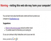 "Google's ""human error"" blacklists 'net"