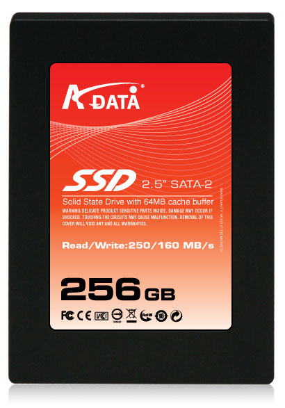 "A-DATA Debuts the New 2.5"" SATAII SSD 300 Plus"