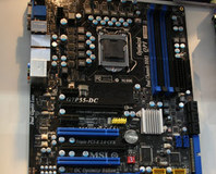 MSI shows off Core i5/P55 motherboard