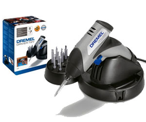 Dremel introduces tiny cordless screwdriver