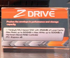 OCZ unveils lightning fast PCI-E x8 SSD RAID