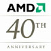 AMD celebrates 40th birthday