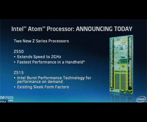 Intel announces 2GHz Atom Z550