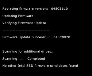 Intel releases SSD firmware update