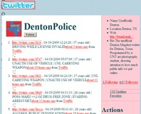 Student posts perp details to Twitter