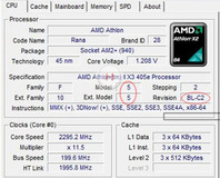 Rumour: Athlon II CPU-Z screenshot revealed