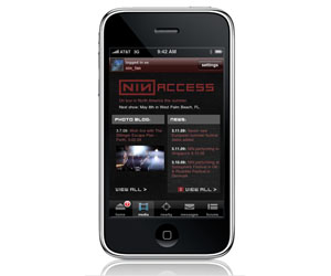 Apple backtracks on Nine Inch Nails iPhone app