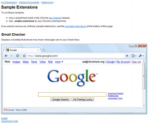 Chrome gets true extension support
