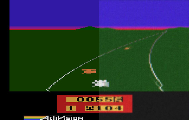 CRT emulation provides authentic retro gaming