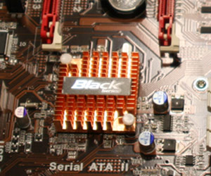 ECS P55 motherboard tips up in Taipei