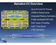 Intel demos Nehalem-EX octal-core CPU