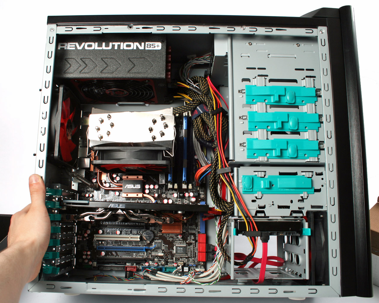 how to start pc build pc builder