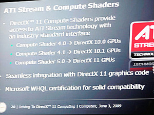 AMD Shows Off DirectX 11 GPU AMD shows off Direct X 11