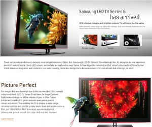 ASA bans Samsung LED TV ads