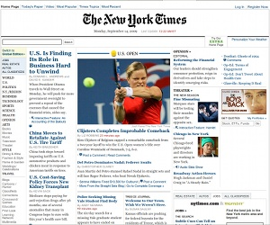 New York Times suffers ad-based malware