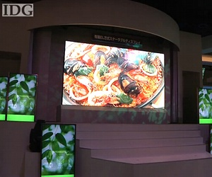 "Mitsubishi demos 155"" OLED display"