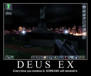 Spector tried to buy Deus Ex rights