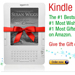 Kindle is the top-selling product on Amazon