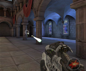 Unreal Engine 3 runs on iPhone