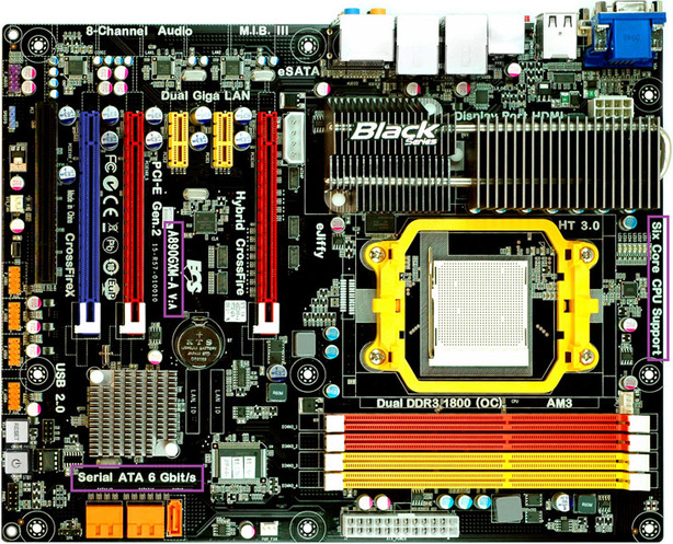 AMD has 6-core CPUs, SATA 6Gbps mobos due AMD has 6-core CPU, SATA 6Gbps motherboards due