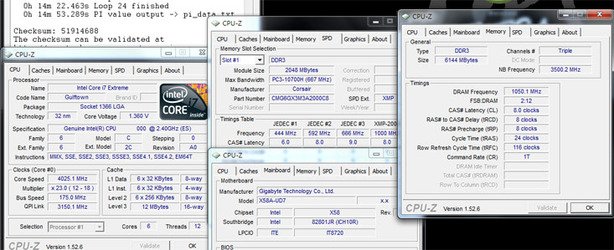 Mystery Intel 6-core CPU overclocked to 4GHz Intel 6-core hits 4GHz, shows benchmarks