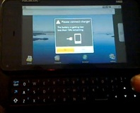 N900 hacked to boot Android