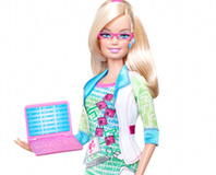 Barbie becomes Computer Engineer