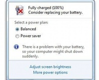 Microsoft denies Win 7 battery bug
