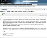 Win 7 bug may kill batteries