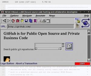 Hackers resurrect NCSA Mosaic