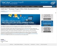 Intel launches Atom Development Fund