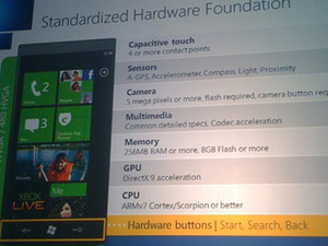Windows Phone 7 Series supports DirectX 9 and SM3