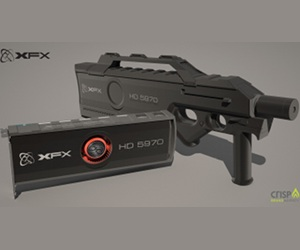 XFX plans gun-themed ATI 5970