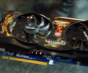 Gigabyte shows Super Overclocked Radeon HD 5870