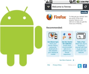 Mozilla Fennec for Android pre-alpha released