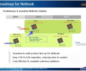 Samsung plans its own netbook chips