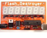 Flash Destroyer tests flash write cycles