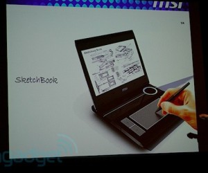 MSI offers peek at SketchBook device