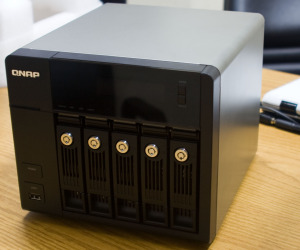 QNAP shows off Atom-powered NAS boxes