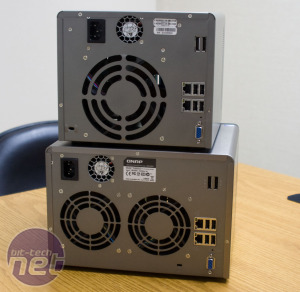 QNAP shows off Atom-powered NAS boxes QNAP shows off its latest Atom home servers