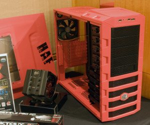 Red Cooler Master 'AMD' case spotted
