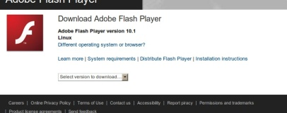 Adobe kills 64-bit Flash Player