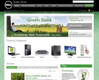 Dell launches Green Store