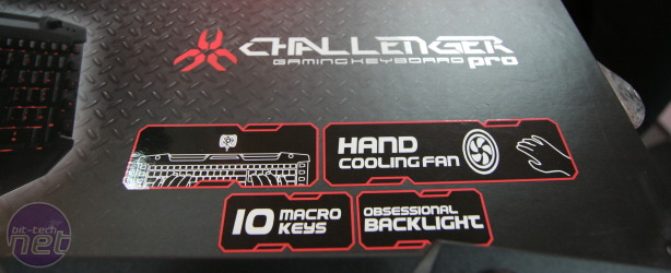 Thermaltake's gaming keyboard needs more fans Thermaltake's gaming keyboard is fan-modded