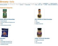 Amazon Launches UK Grocery Site