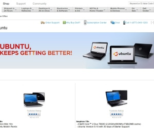 Dell drops online sales of Ubuntu